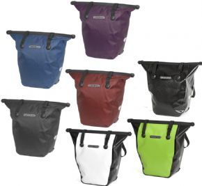 Ortlieb Bike Shopper Single Pannier 20 Litre - The integrated mounting allows quick change from bike to bike