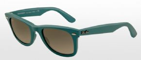 Ray-ban Original Wayfarer Sunglasses Rb2140 - 884/71 - Matt Turqoise Frame/ Grey Lens