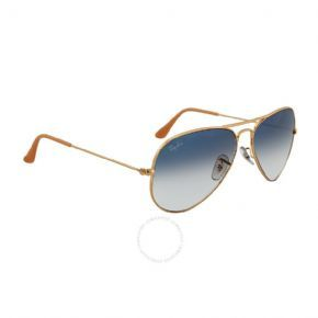 Ray-ban Aviator Sunglasses Rb 3025 001/3f - Arista Frame/ Faded Brown Lens