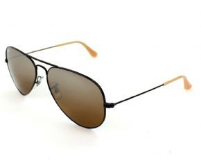 Ray-ban Aviator Sunglasses Rb 3025 006/3k - Black Frame Green Lens