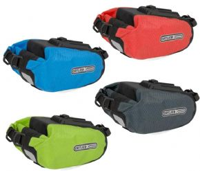 Ortlieb Saddle Bag Ps21 Large 2.7 Litre - Tucks in nicely under the saddle and often functions as protector on bikes without guards