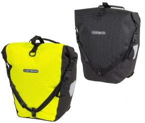 Ortlieb Back-roller High Visibility Panniers - High visibility on the road is critical to ensure that you will be safely seen.