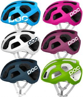 Poc Octal Raceday Road Helmet - Octal provides more coverage & additional protection for the temples and back of the head