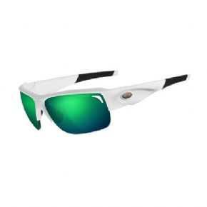 Tifosi Elder Matte White Clarion Green 3 Lens Set Sunglasses