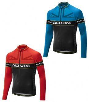 Altura Sportive Team Long Sleeve Jersey  2017 - Altura ErgoFit 3D patterning engineered for a more comfortable riding position