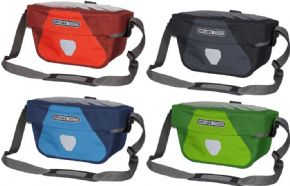 Ortlieb Ultimate 6 S Plus Bar Bag - Compact Handlebar bag with Magnetic Lid