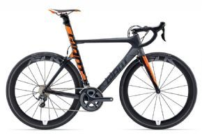 Giant Propel Advanced Sl 2 Road Bike 2017 Medium (ex Display) - Advanced SL-grade composite frame is stiff and efficient yet still superlight.
