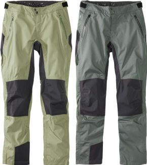 Madison Dte Waterproof Trousers  2018 - 2.5 layer fabric with a 3-layer fabric on the rear panel
