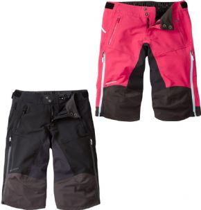 Madison Zena Womens 4-season Dwr Shorts  2018 - A huge waterproof 3 layer rear panel keeps out any trail spray