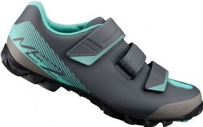 Shimano Me200w Spd Women`s Mtb Shoe - Durable and lightweight rubber sole for increased traction and walking comfort