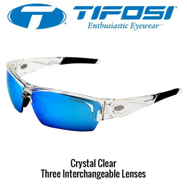 Tifosi Lore Crystal Clear 3 Lens Set Sunglasses