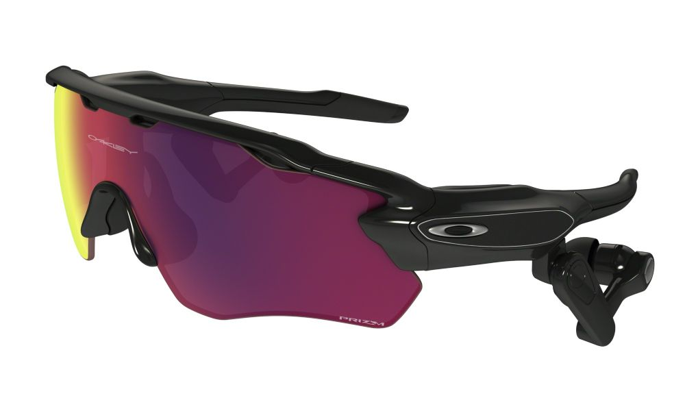 Oakley Radar Pace Sunglasses Polished Black/ Prizm Road/ Clear Oo9333-01
