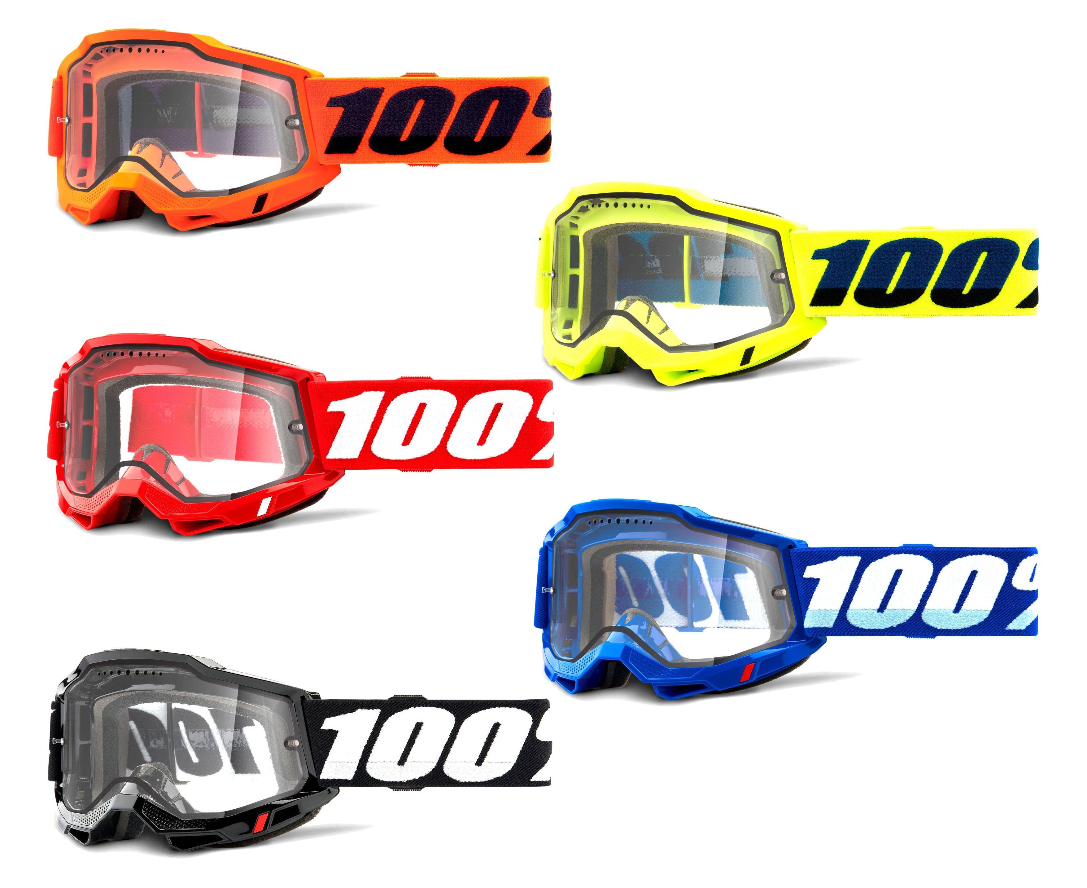 100% Accuri 2 Enduro Mtb Goggles With Vented Lens 2021